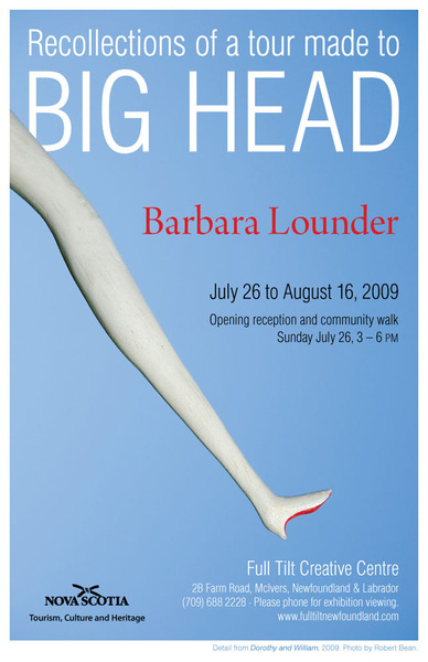 Poster for Recollections of a Tour Made to Big Head
