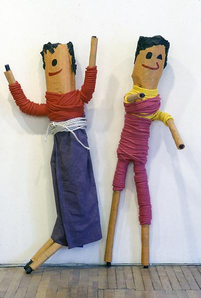 Large trouble dolls